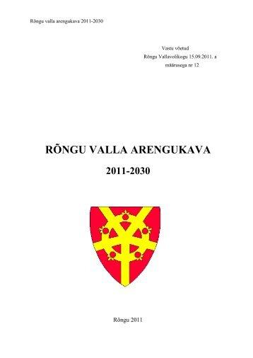 Rõngu valla arengukava 2011 – 2030 - Rõngu Vald