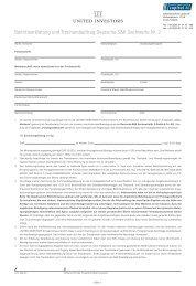 Beitrittserklärung und Treuhandauftrag Deutsche S&K Sachwerte Nr. 2
