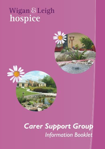 Carer support - Wigan & Leigh Hospice