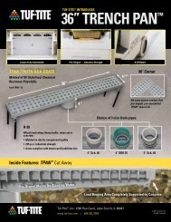 """36"""" TRENCH PAN™ - Drainage Solutions, Inc."""