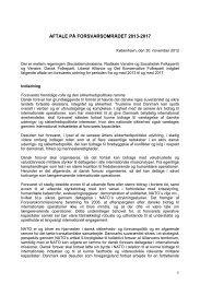 Aftale på forsvarsområdet 2013-2017 (pdf) - Forsvarsministeriet