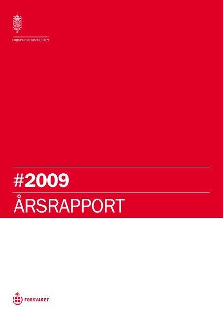 Årsrapport 2009.pdf - Forsvarskommandoen