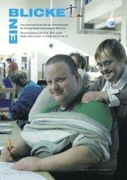 EINBLICKE - Lichtenberger Werkstatt für Behinderte gGmbH