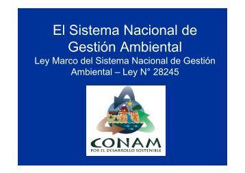 El Sistema Nacional de Gestión Ambiental - BlogCdam - Ministerio ...