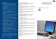 University library services Presentation and ... - Politecnico di Milano