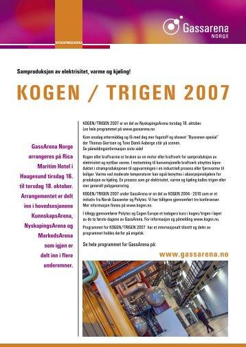 KOGEN / TRIGEN 2007