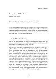 Christustag 15.06.2006 Richtig! – Gesellschaft braucht Werte ...