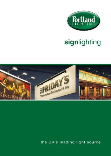 Download our brochure - Portland Lighting