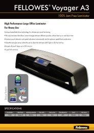 5400 Voyager Laminator Sell Sheet 2009-2010 Uk:layout 1