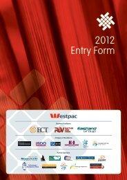 2012 Entry Form - Gisborne Chamber of Commerce