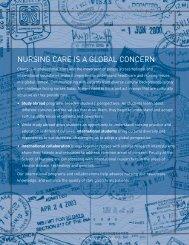 NURSING CARE IS A GLOBAL CONCERN - School of Nursing