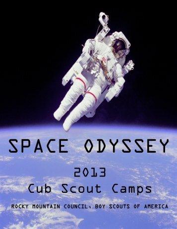 2O13 Cub Scout Camps - Rocky Mountain Council