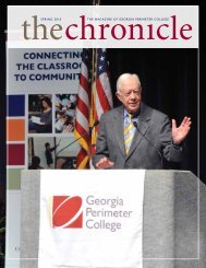 spring 2010 the magazine of georgia perimeter ... - The Chronicle