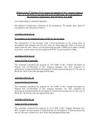 Minutes of the 5th Meeting of Unit Approval Committee of M/s ... - STPI
