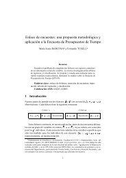 Enlace de encuestas: una propuesta metodológica y aplicación a la ...