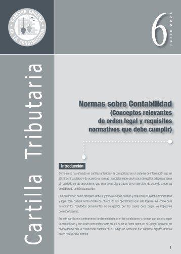 Normas sobre Contabilidad - Biblioteca - Cámara Chilena de la ...