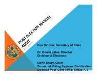 Post-Election Manual Audit