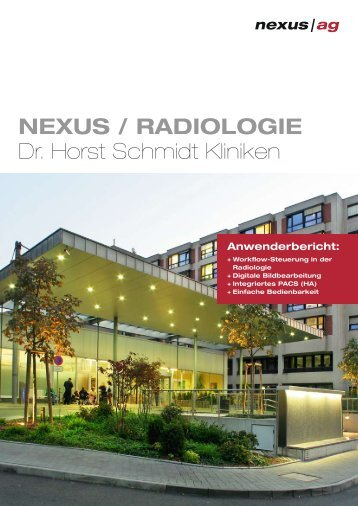 NEXUS / RADIOLOGIE Dr. Horst Schmidt Kliniken