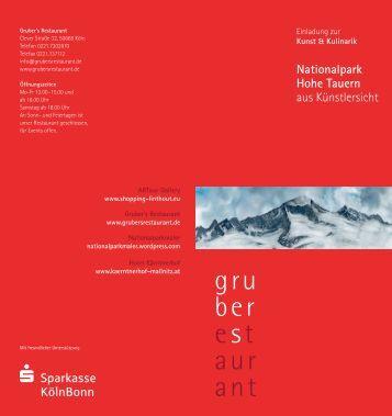 Nationalpark Hohe Tauern aus Künstlersicht - Hannelore Nenning