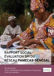 RappoRt social évaluation spi du Réseau PAMECAS ... - Cerise