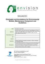 D4.3 - ENVISION – ENVIronmental Services Infrastructure with ...