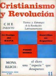 Cristianismo y Revolución Nº 11 (Nov. 1968) - CeDInCI