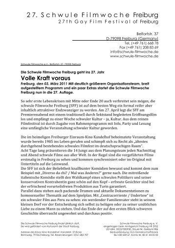 Presseinfo vom 3.März 2011