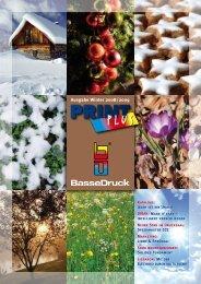 Ausgabe Winter 2008/2009 - BasseDruck