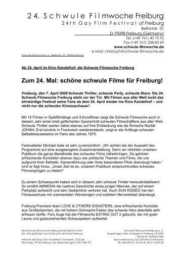 2 4. S c h w u l e  F i l mwoche Freiburg