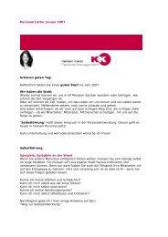 Personal Letter Januar 2007 - Kereen Karst