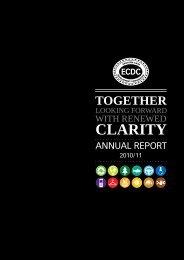 2010/2011 Annual Report - Eastern Cape Development Corporation
