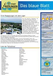 Lagerzeitung vom Sonntag, 31.07.2011 - THW-Jugend Baden ...