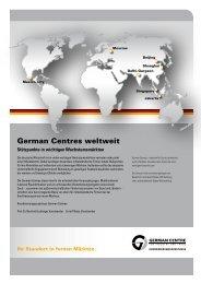 German Centres weltweit - German Centre Mexico