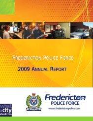 2009 Annual Report Draft.pub - Fredericton