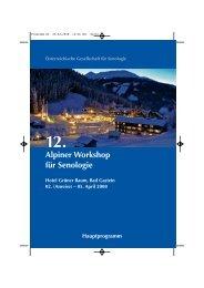 12. Alpiner Workshop.pdf - Österreichische Gesellschaft für Senologie