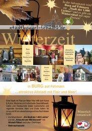 in BURG auf Fehmarn ...attraktive Altstadt mit Flair und Meer!