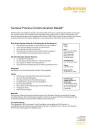 Seminar Process Communication Model-def 2 - advenias