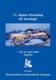 13. Alpiner Workshop.pdf - Österreichische Gesellschaft für Senologie