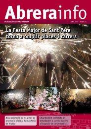 Abrerainfo Juny.pdf - Ajuntament d'Abrera
