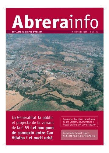 Abrerainfo Novembre - Ajuntament d'Abrera