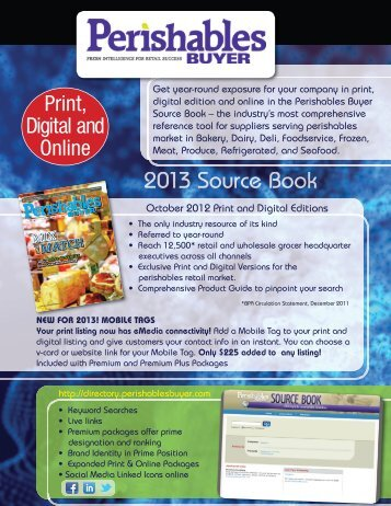 Print, Digital and Online - BNP Media Directories and Buyers Guides