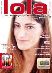 2011-05 - lola - Das Magazin für Düsseldorf