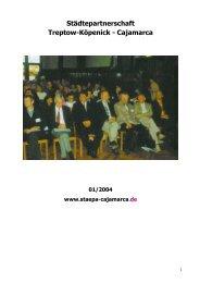 2003 – Bilanz eines Stäpajahres - Städtepartnerschaft Treptow ...