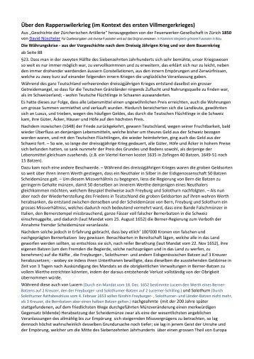PDF-Version zum Herunterladen - Villmergerkriege