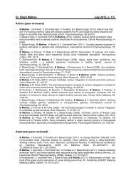 Dr. Birgit Mathes July 2012, p. 1/3 Article (peer-reviewed) Abstracts ...