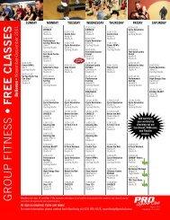 free classes Bellevue - PRO Sports Club
