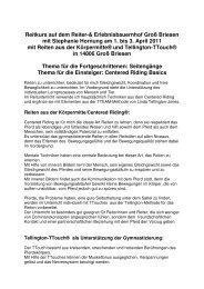 Reitkurs auf dem Reiter-& Erlebnisbauernhof Groß Briesen mit ...