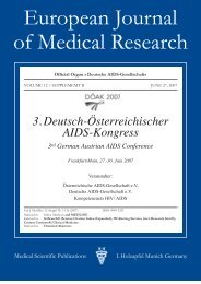 European Journal of Medical Research - Deutsche AIDS ...