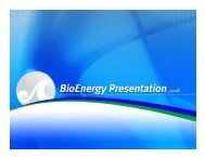 Bioenergy - Hawaii Energy Policy Forum
