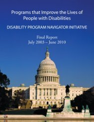 Download the report - National Disability Institute